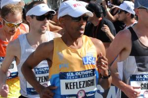 Meb Keflezighi makes U.S. Olympic team
